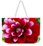 Red Spring Flower Weekender Tote Bag