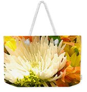 Spring Flower Burst Weekender Tote Bag