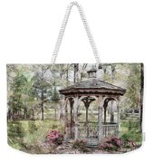Spring Gazebo Painteffect Weekender Tote Bag