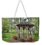 Spring Gazebo Pastel Effect Weekender Tote Bag
