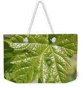 Spring Grape Leaf Weekender Tote Bag