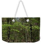 Spring Greenery Weekender Tote Bag