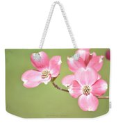 Spring Harbinger Weekender Tote Bag