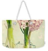 Spring Hyacinths Weekender Tote Bag
