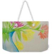 Spring In A Vase Weekender Tote Bag