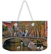Spring In Bruges Weekender Tote Bag