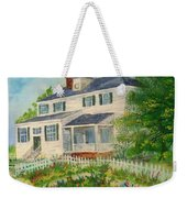 Spring In Colonial Williamsburg- Cole House Weekender Tote Bag