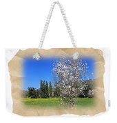 Spring In The Paper Weekender Tote Bag