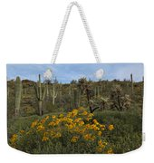 Spring In The Superstition Wilderness Weekender Tote Bag