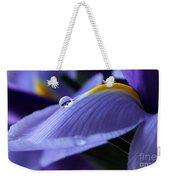 Spring Iris Weekender Tote Bag