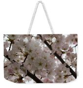 Spring Is Beautiful - A Cloud Of Pastel Pink Blossoms Weekender Tote Bag