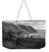Spring Light - Black And White Weekender Tote Bag