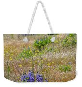 Spring Lupines And Cheatgrass Weekender Tote Bag