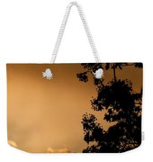 Spring Maple Silhouette Weekender Tote Bag