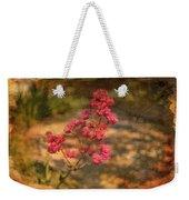 Spring Mignonette Flower Weekender Tote Bag