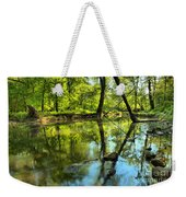 Spring Mill Reflections Weekender Tote Bag