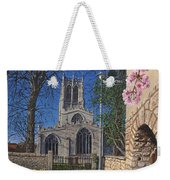 Spring Morning Brides Cottage Tickhill Yorkshire Weekender Tote Bag