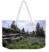 Spring Mountain Lupines 2 Weekender Tote Bag