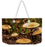 Spring Mushrooms Weekender Tote Bag
