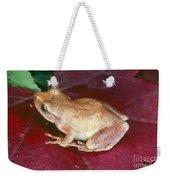 Spring Peeper Weekender Tote Bag