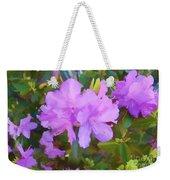 Spring Pink Azalea Weekender Tote Bag