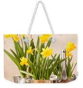 Spring Planting Weekender Tote Bag