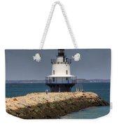 Spring Point Ledge Light Weekender Tote Bag by Joann Vitali
