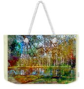 Spring Pond Photoart Father's Day Weekender Tote Bag