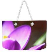 Spring Purple Weekender Tote Bag