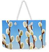 Spring Pussy Willows Weekender Tote Bag by Elena Elisseeva