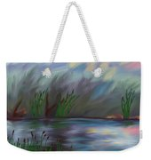 Spring Reed In The Canyon Weekender Tote Bag