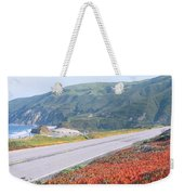 Spring, Route 1, California Coast Weekender Tote Bag