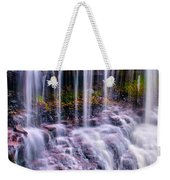 Spring Runoff At The Falls Weekender Tote Bag