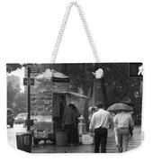 Spring Shower - Rainy Day In New York Weekender Tote Bag