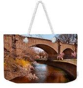Spring - Springtime In Newark Weekender Tote Bag