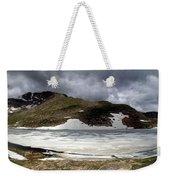 Mountain Lake Spring Thaw Weekender Tote Bag