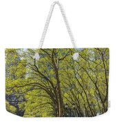 Spring Time In Bryant Park New York Weekender Tote Bag by Angela A Stanton