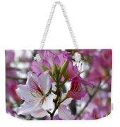 Spring Tree Blossoms Weekender Tote Bag