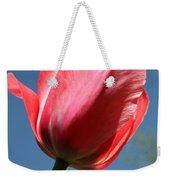 Spring Tulip Blues Weekender Tote Bag