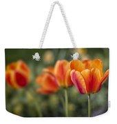 Spring Tulips Weekender Tote Bag by Adam Romanowicz