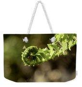 Spring Unfurled Fiddlehead Weekender Tote Bag