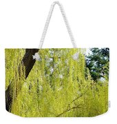 Spring Weeping Willow Weekender Tote Bag