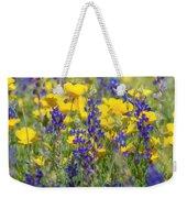 Spring Wildflower Bouquet  Weekender Tote Bag