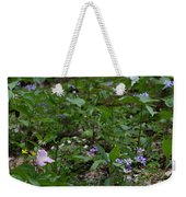 Spring Wildflowers Along Panther Branch Trail Frozen Head Tennessee State Park Tennessee Weekender Tote Bag