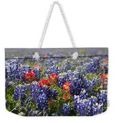 Spring Wildflowers Weekender Tote Bag