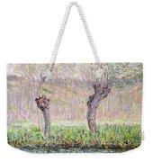 Spring Willows Weekender Tote Bag
