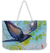 Spring Wings Weekender Tote Bag