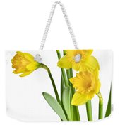 Spring Yellow Daffodils Weekender Tote Bag
