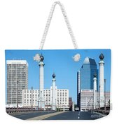 Springfield Memorial Bridge Weekender Tote Bag
