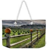 Springhetti Road Pumpkins Weekender Tote Bag